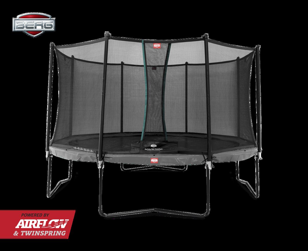berg-champion-trampolin-grau-mit-sicherheitsnetz
