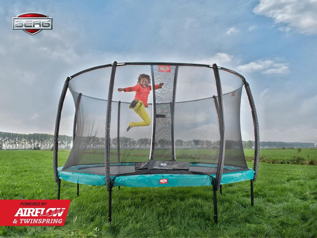 berg-champion-trampolin-mit-sicherheitsnetz-deluxe-gruen