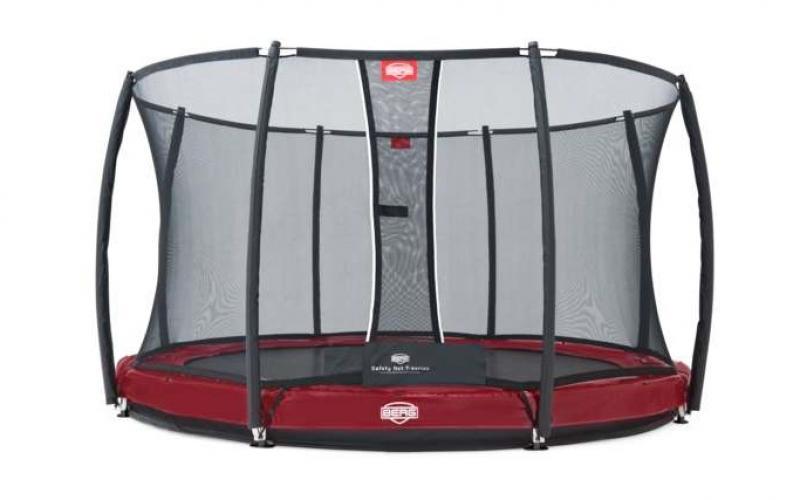 trampolin-inground-bergelite-t-serie-mit-netz